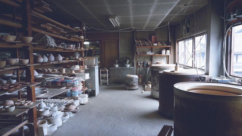 Junpei Omori, ceramics in Japan. Courtesy of VAWAA.