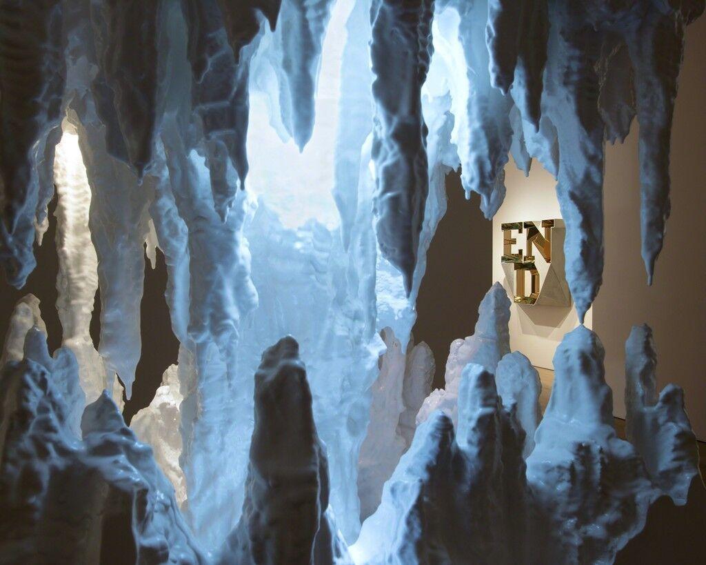 "Installation view of""Doug Aitken"" at Victoria Miro."