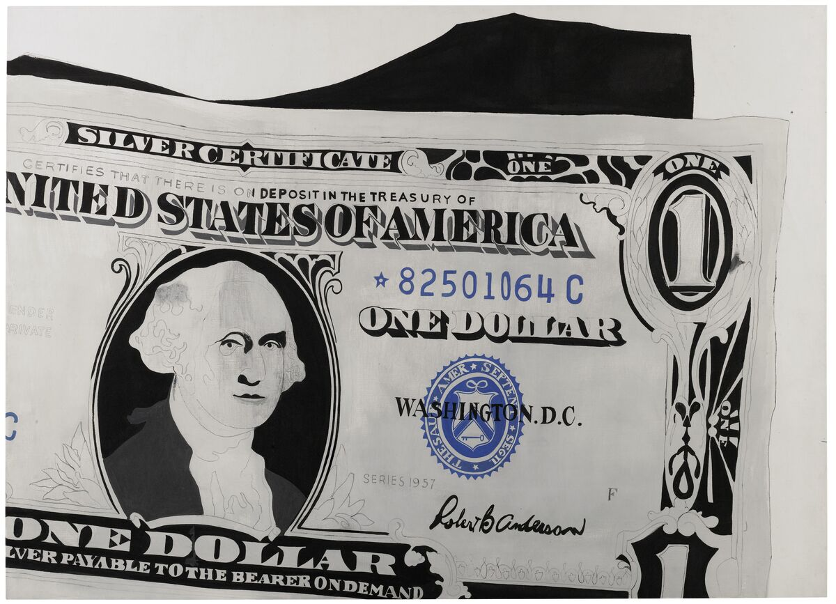 From andy warhol to chris ofili the london auction seasons eight andy warholnbspone dollar bill silver certificate 1962 xflitez Images
