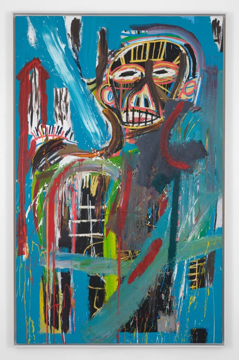 Jean-Michel Basquiat, Untitled, 1984. © The Estate of Jean-Michel Basquiat. Photo by Kitmin Lee. Courtesy of Lévy Gorvy.