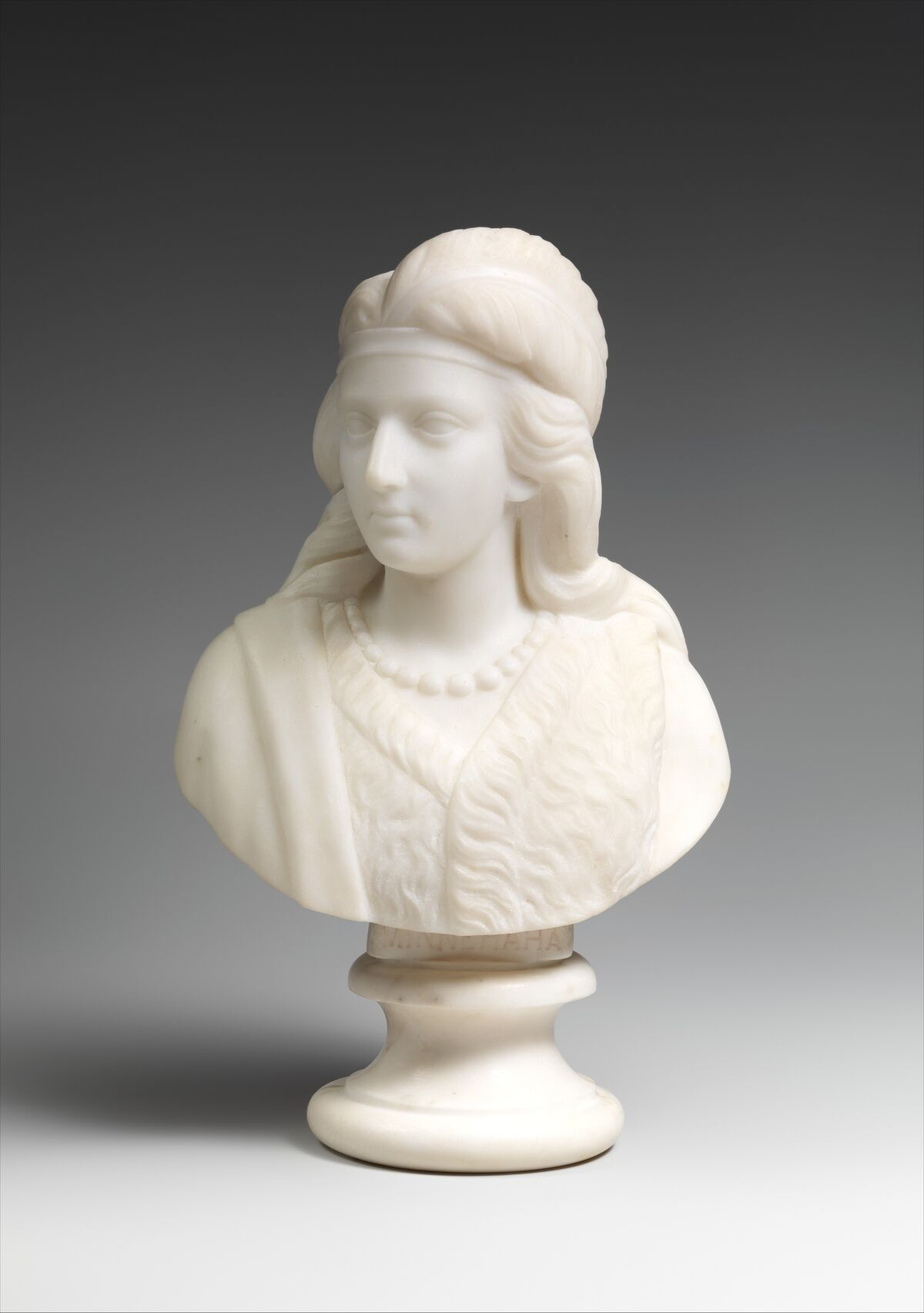 Edmonia Lewis, Minnehaha, 1868. Courtesy of The Metropolitan Museum of Art.