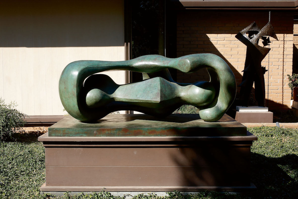 Henry Moore, Reclining Connected Forms, 1969. Courtesy Sotheby's.