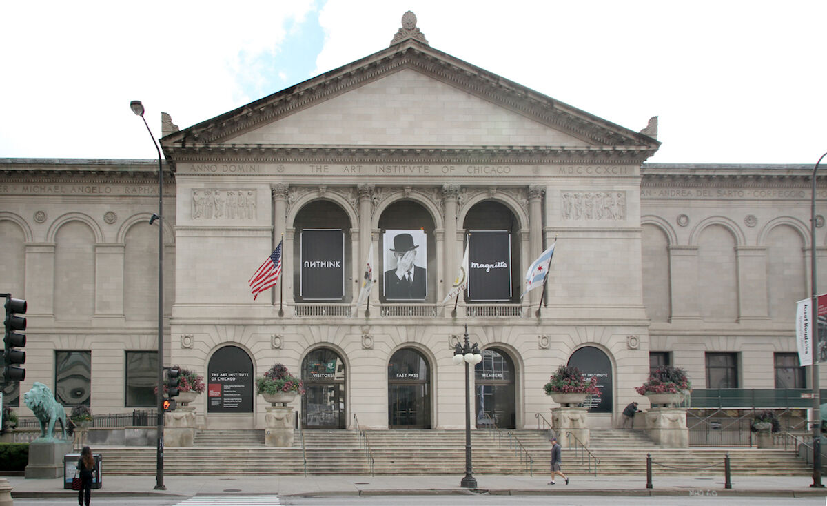 The Art Institute of Chicago. Photo by Tony Hisgett, via Wikimedia Commons.