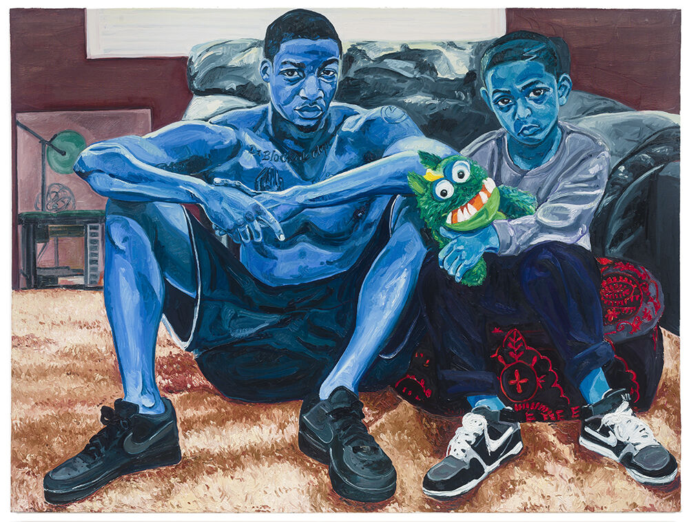 Jordan Casteel, Miles and Jojo, 2015. Image courtesy of the artist.