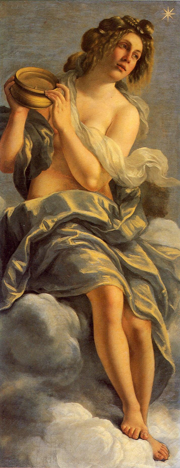 Artemisia Gentileschi, Allegory of Inclination, ca. 1615. Photo via Wikimedia Commons.