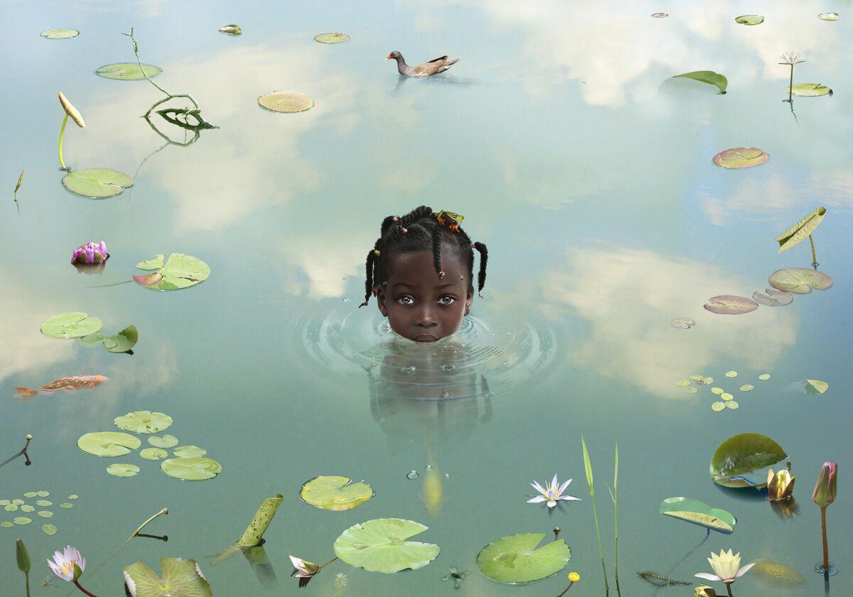 World #36, 2010© Ruud van Empel / Courtesy Beetles+Huxley, London.
