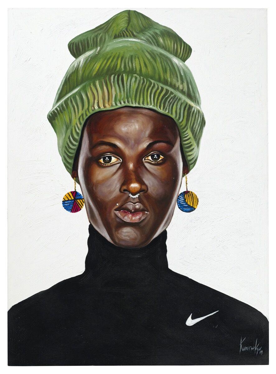 Otis Kwame Kye Quaicoe, Just Do It, 2019. Courtesy of Christie's Images Ltd. 2020.