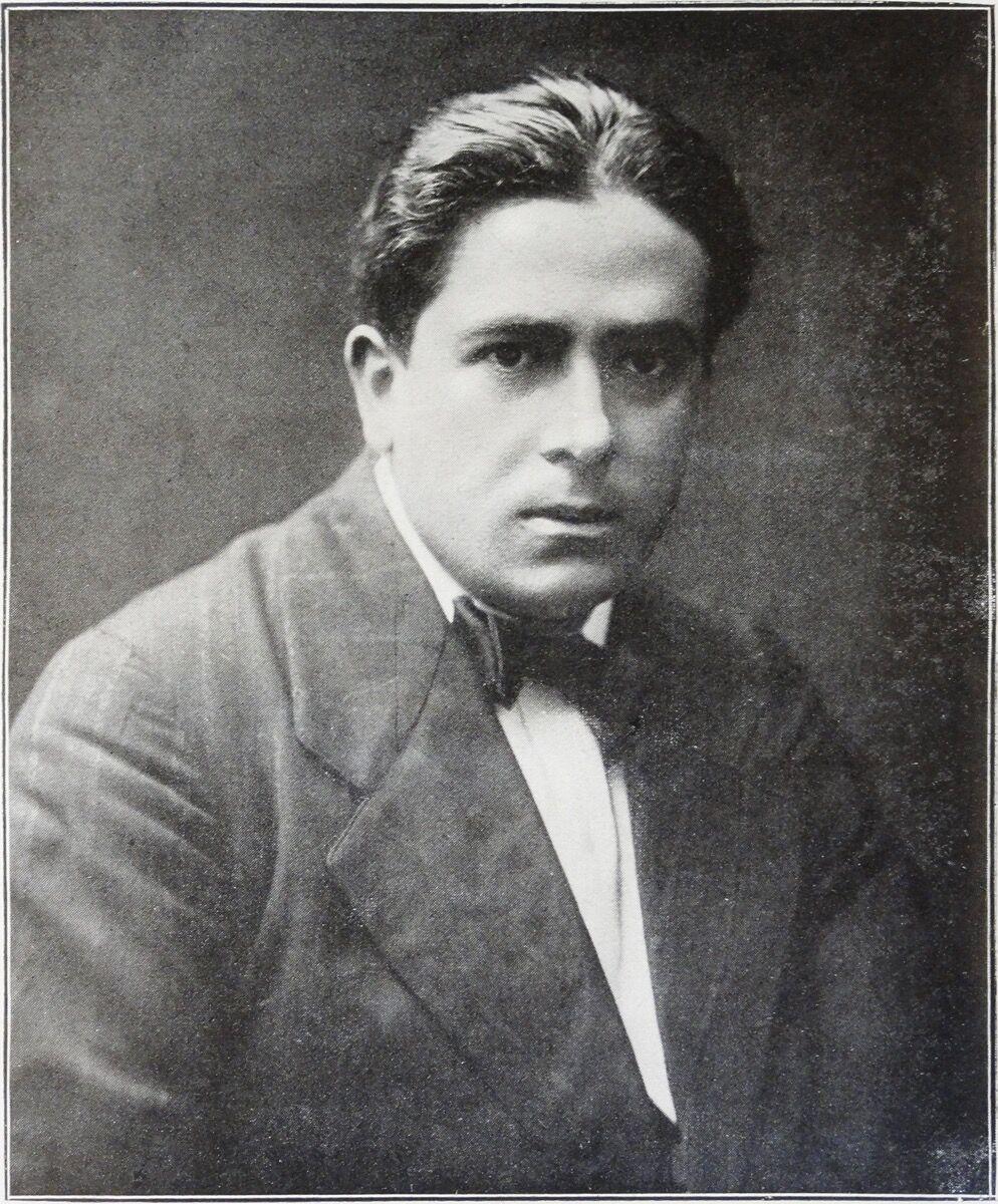 Portrait of Francis Picabia,published in Guillaume Apollinaire,Les Peintres cubistes, 1913.