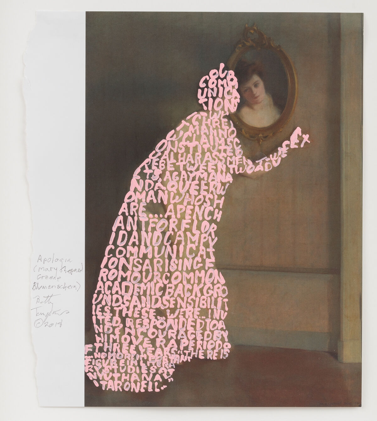 1f76971c16 Betty Tompkins Gives Art History a  MeToo Overhaul - Artsy