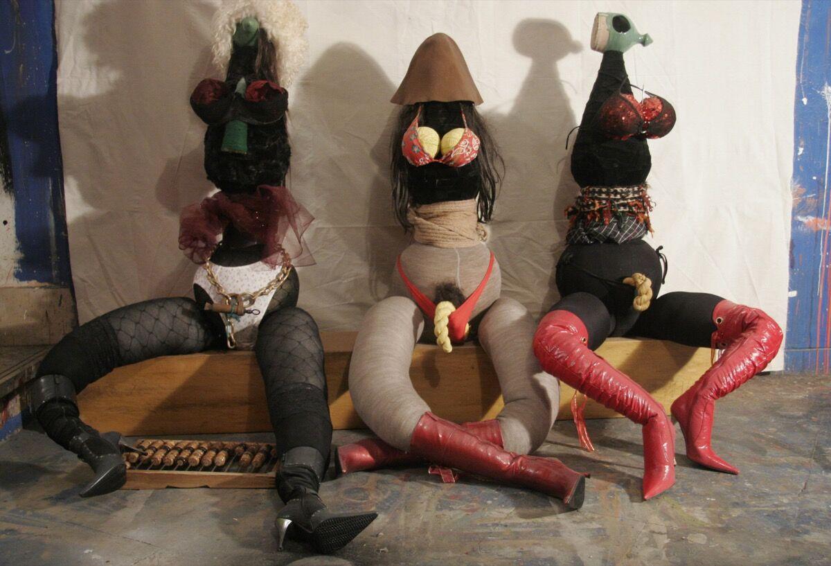 Shirin Fakhim, Tehran Prostitutes, 2008. © Shirin Fakhim, 2019,Courtesy of the Saatchi Gallery, London