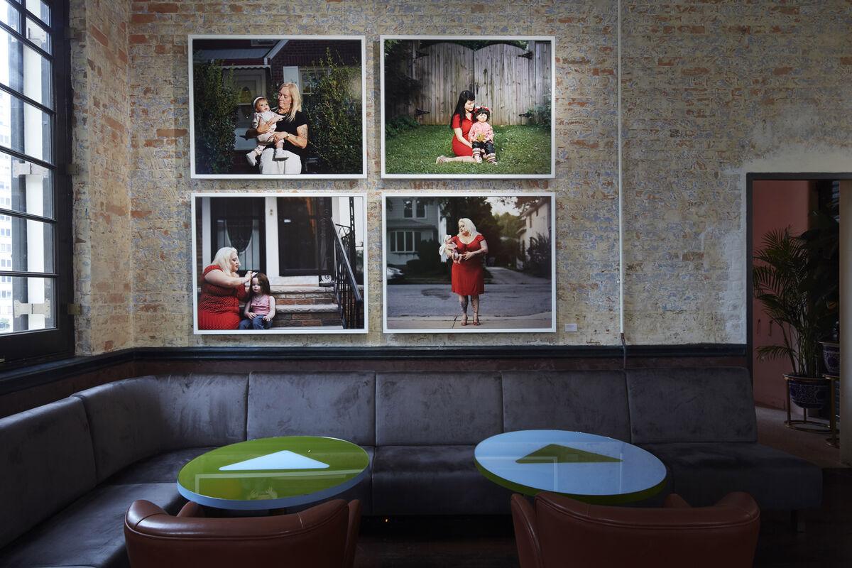 "Installation view of Jamie Diamond, ""Dolls' House,"" at Prada Mode Hong Kong, 2019. Courtesy of Prada."