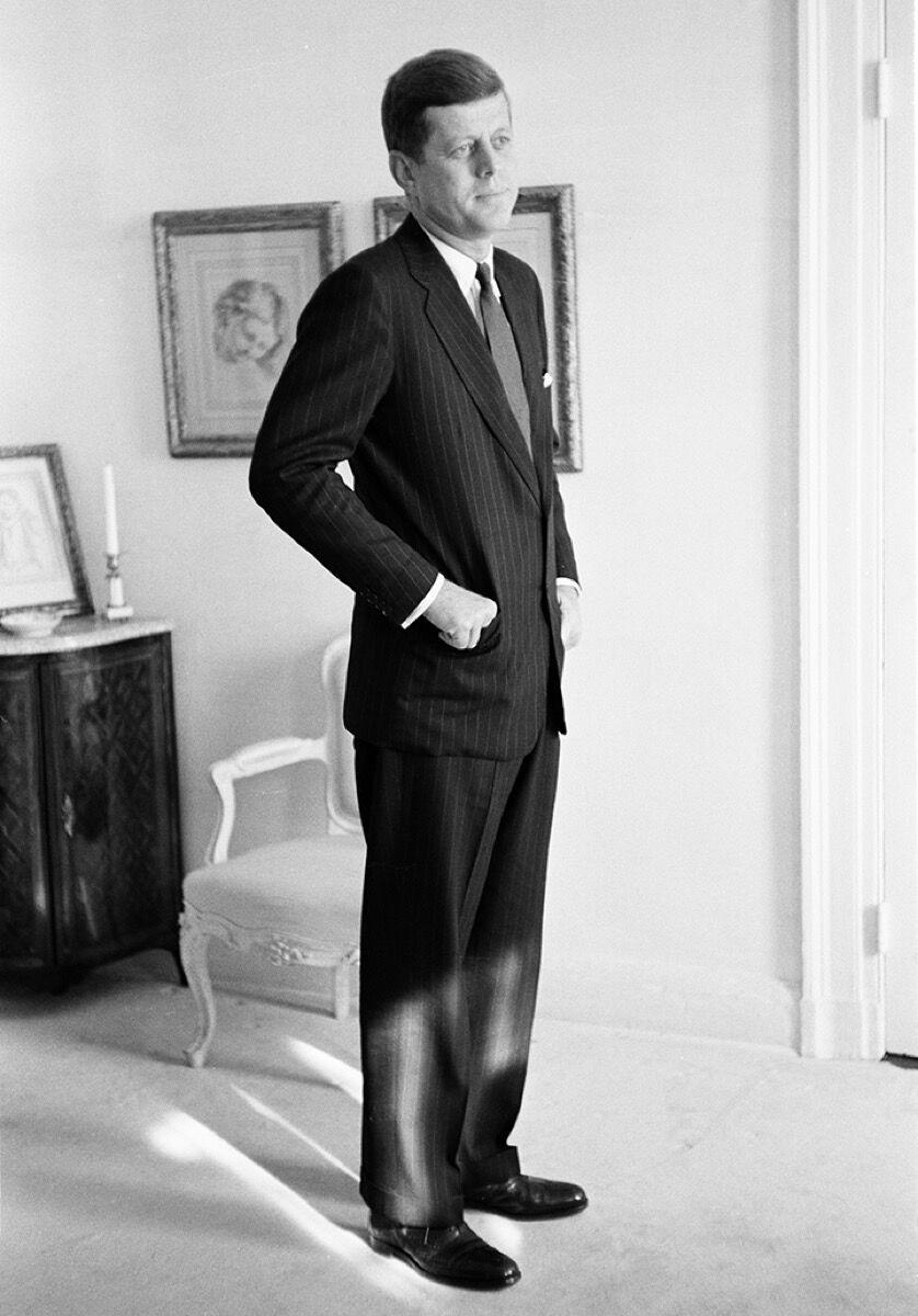 Tony Vaccaro, John F Kennedy, US President, Washington, DC, 1960. Courtesy Tony Vaccaro Studio/Monroe Gallery.