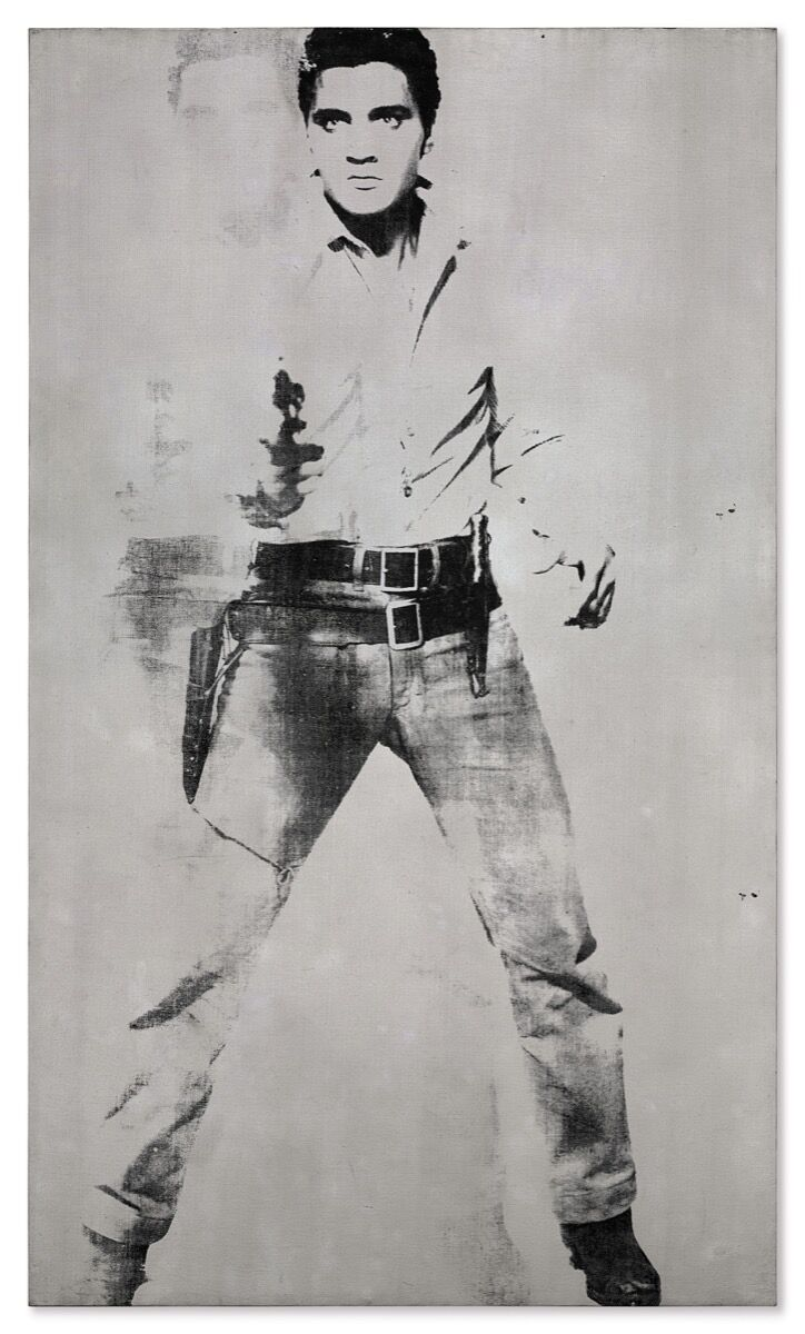 Andy Warhol, Double Elvis [Ferus Type], 1963. Courtesy of Christie's.