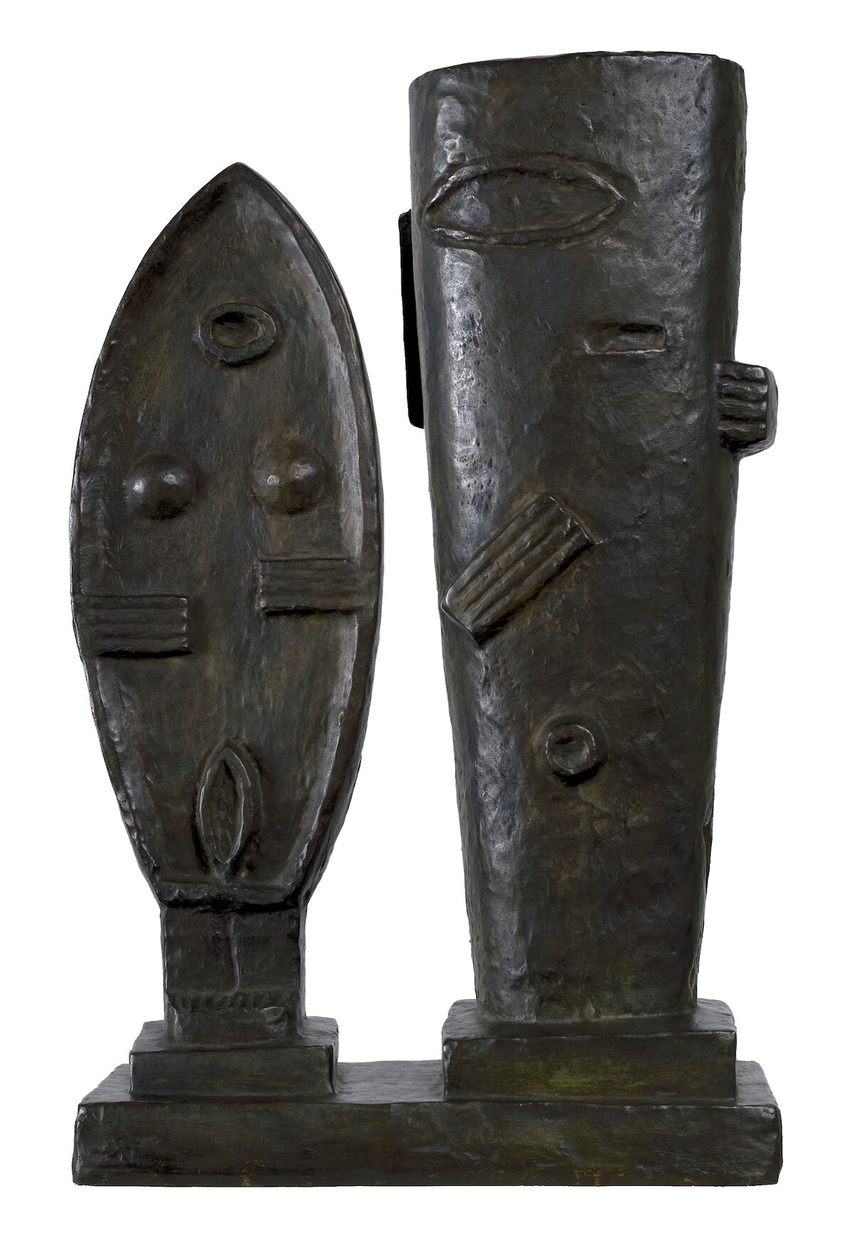 Alberto Giacometti, Le Couple, 1927. Est. $900,000 to $1.5 million. Courtesy Sotheby's.