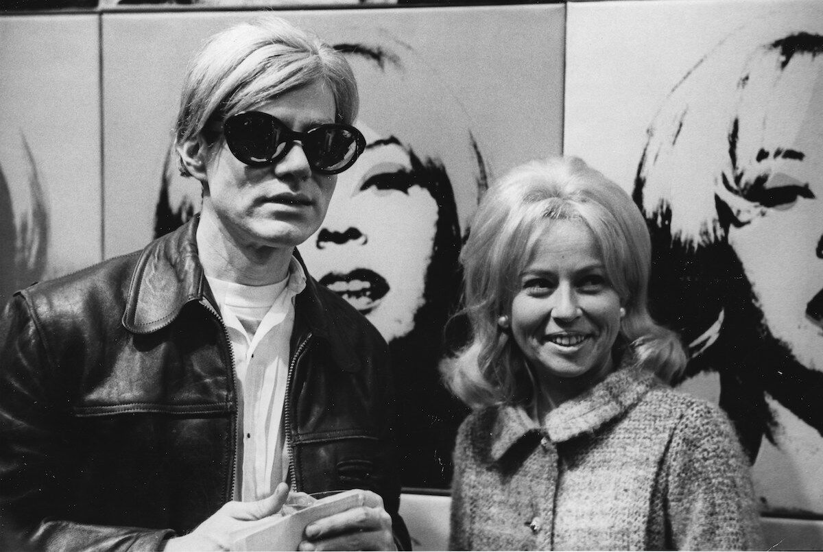 Portrait of Holly Solomon and Andy Warhol at ICA, Boston, 1966. Courtesy of Thomas Solomon.