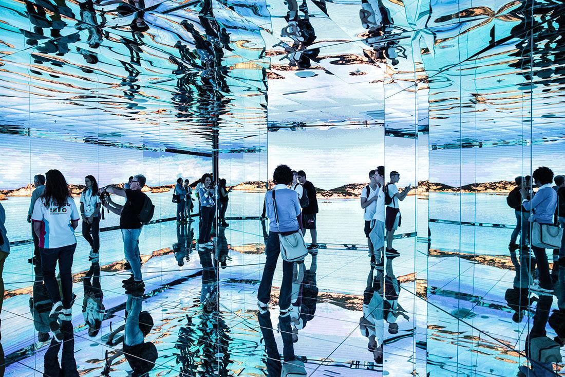 Italian Pavilion.Photo Pietro Baroni / Expo 2015.