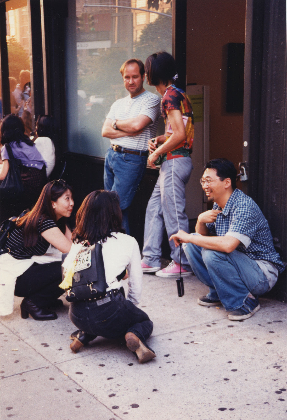 """At the opening of my solo show at Gavin Brown's Enterprise in SoHo."" ©︎ Takashi Murakami/Kaikai Kiki Co., Ltd. All Rights Reserved. Courtesy of Gagosian."