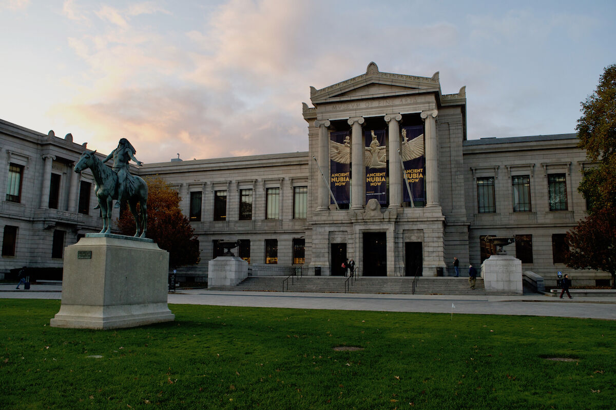 The Museum of Fine Arts, Boston. Photo by Omar David Sandoval Sida, via Wikimedia Commons.