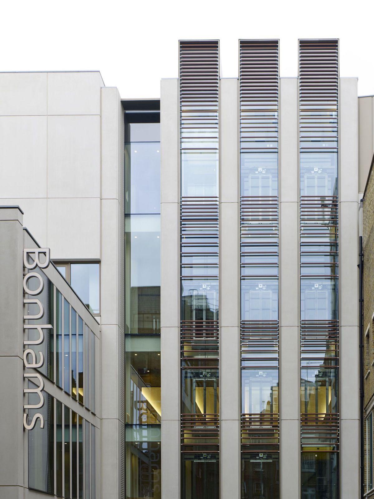 Bonhams headquarters in London. Photo courtesy Bonhams.