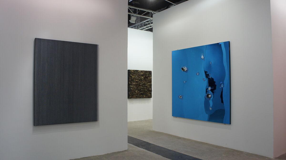 Installation view of Pearl Lam Galleries' booth at West Bund Art & Design.