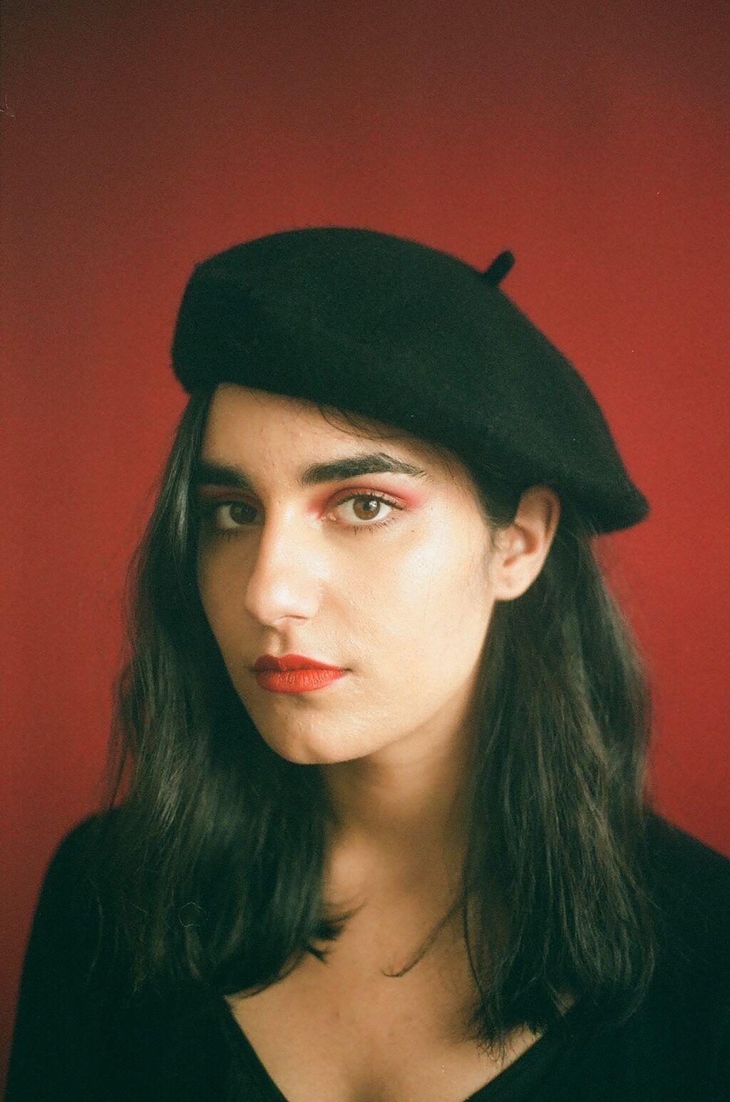 Hanna Sharif-Kazemi. Photo by Micah Pegues. Courtesy of Polychrome Mag.