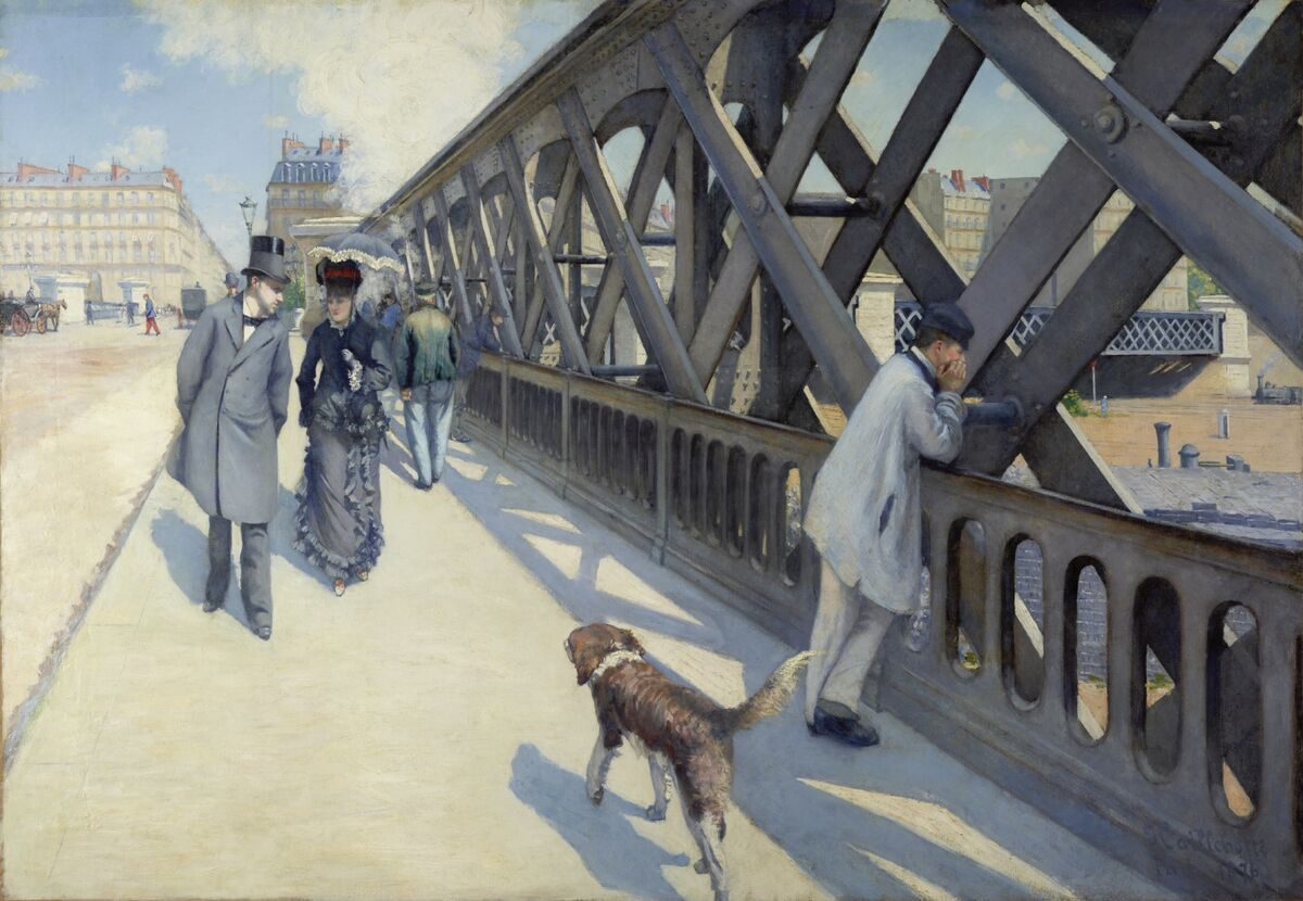 Gustave Caillebotte, Le Pont de l'Urope, 1876. Photo © Rheinisches Bildarchiv Köln, Michael Albers. Courtesy of the Art Gallery of Ontario.