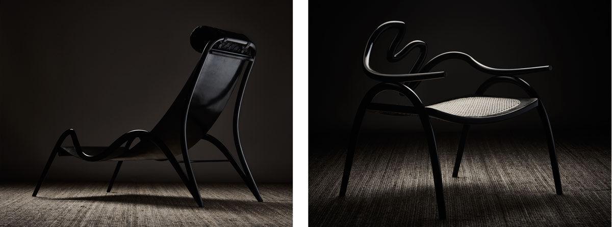 Photos of Studio Swine chairs byPetr Krejčí, courtesy of Studio Swine.