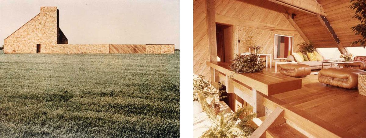 Photos of Harold Becker House courtesy ofMiles Jaffe.