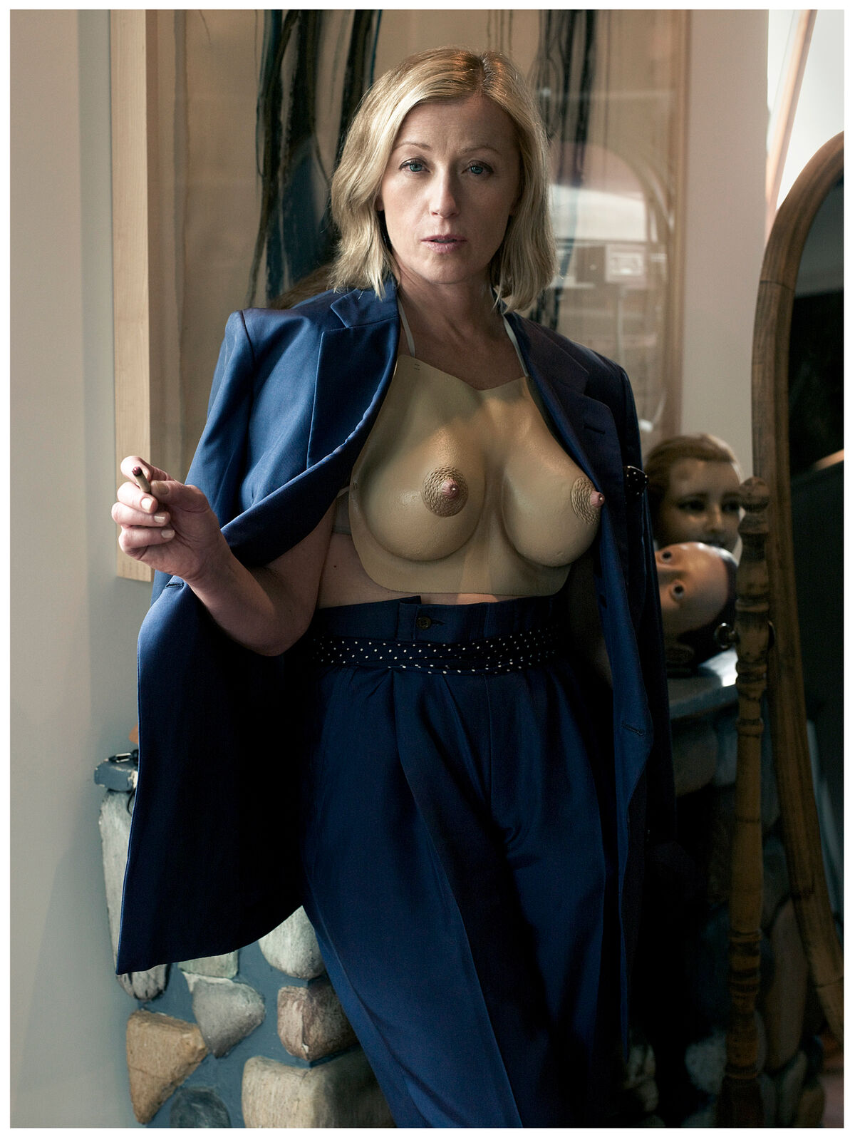 Mark Seliger, Cindy Sherman, New York, New York, 2009. Courtesy of the artist.