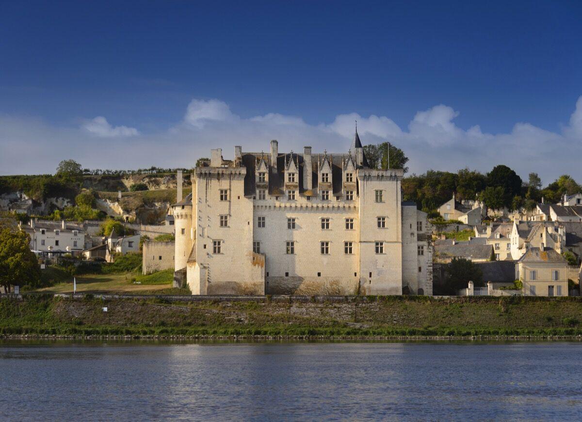 Chateau de Montsoreau. Photo by Léonard de Serres. Courtesy of the Château de Montsoreau - Musée d'Art Contemporain.