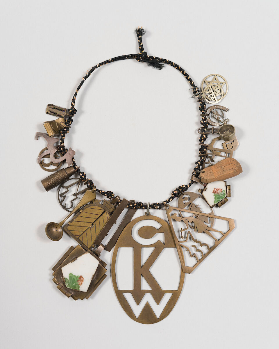 Theresienstadt Bracelet, 1941-43. Courtesy of the Jewish Museum.