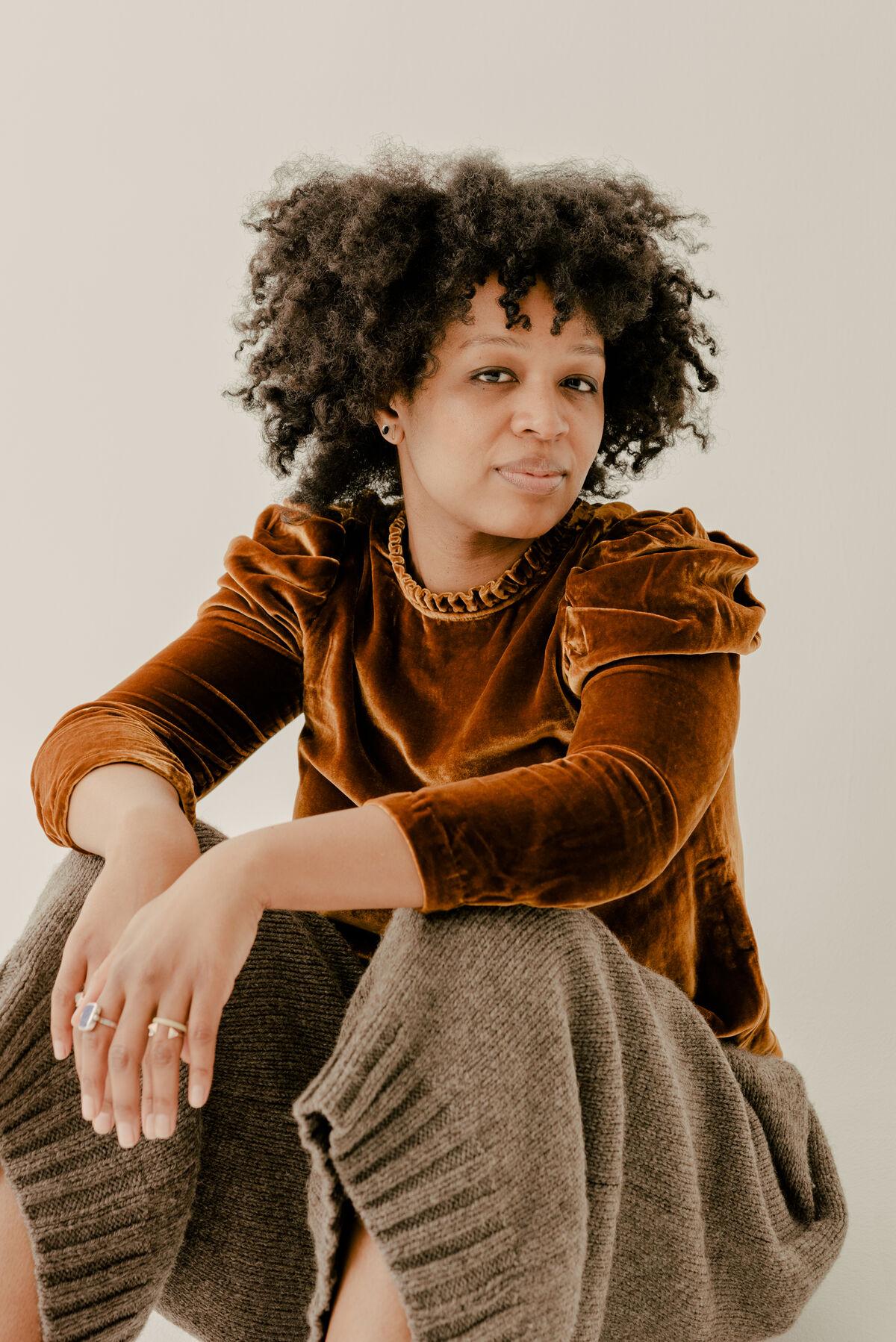 Allison Janae Hamilton by Daniel Dorsa for Artsy.