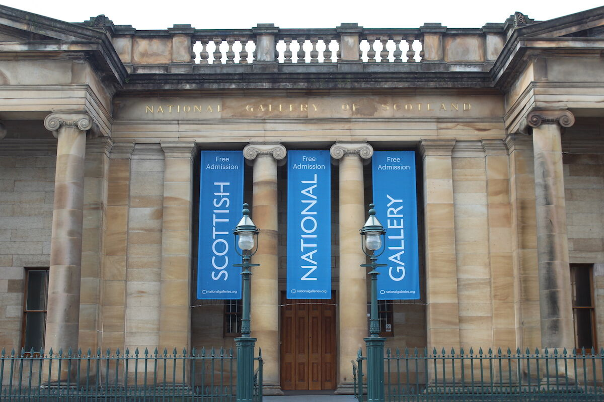 The National Galleries of Scotland. Photo Chabe01, via Wikimedia Commons.