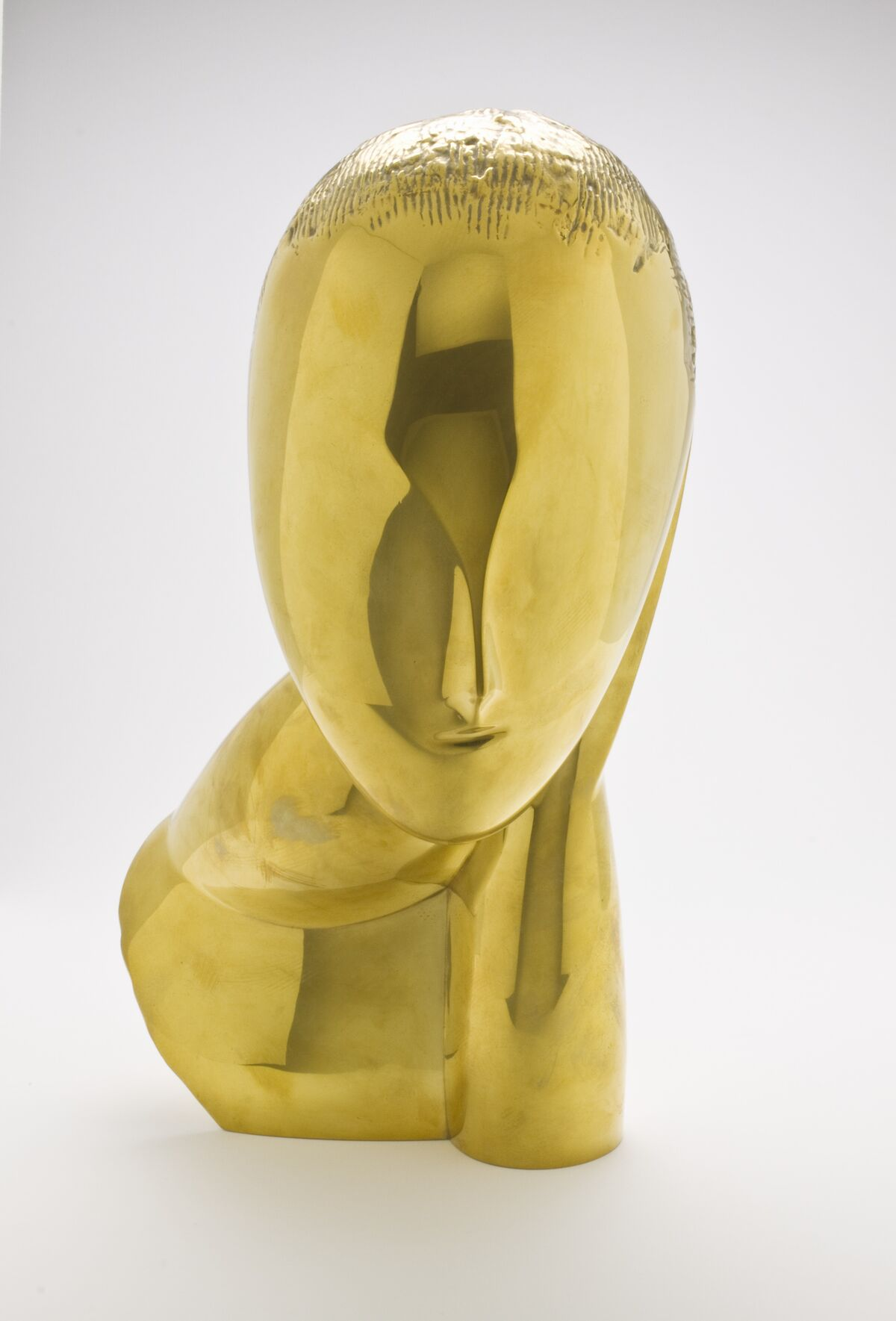 Constantin Brancusi, Muse (la Muse), 1969, posthumous cast from 1912 plaster original. Courtesy of Norton Simon Art Foundation.