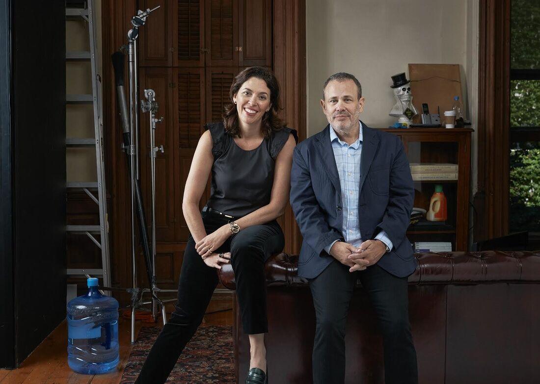 Portrait of Amy Cappellazzo and Allan Schwartzman of Art Agency, Partners, courtesy of Art Agency, Partners. Photo byRoe Etheridge.