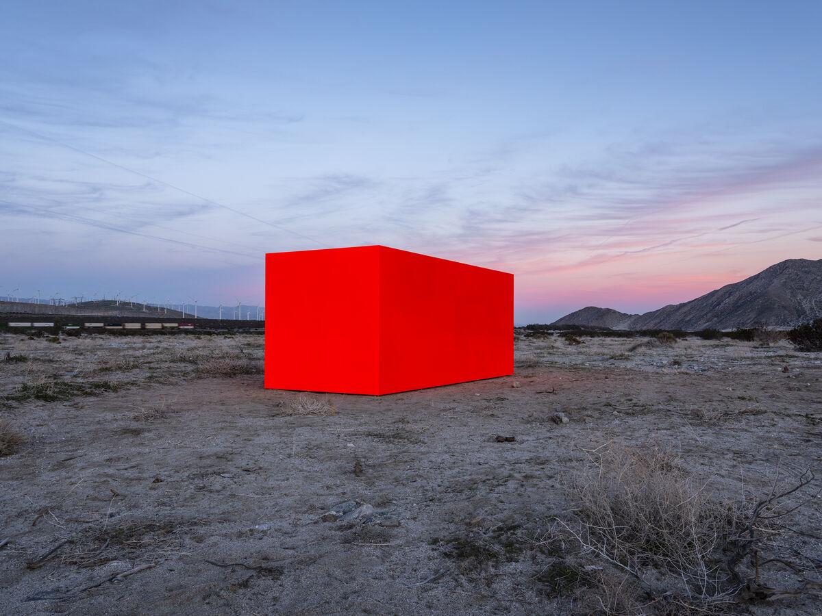 Sterling Ruby, Specter, 2019. Photo by Lance Gerber. Courtesy of Desert X.