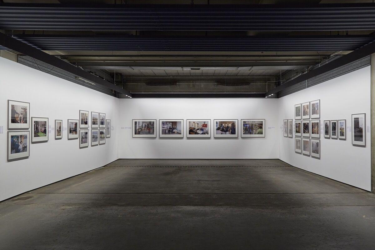 Ahlam Shibli, Heimat, 2016–17, on view at documenta 14, 2017. Photo by Benjamin Westoby for Artsy.