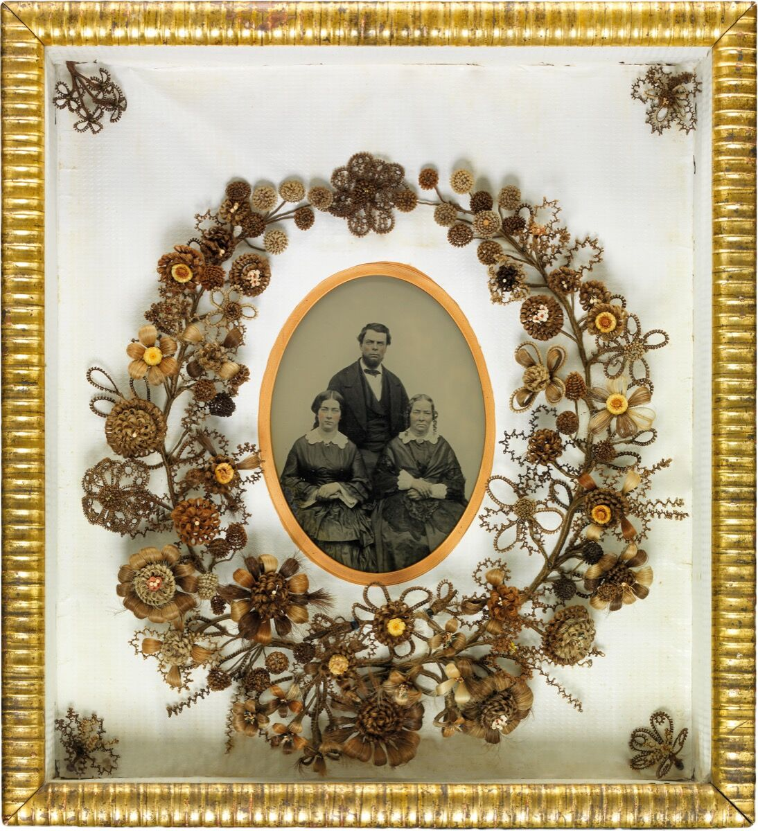 The Curious Victorian Tradition Of Making Art From Human Hair Artsy