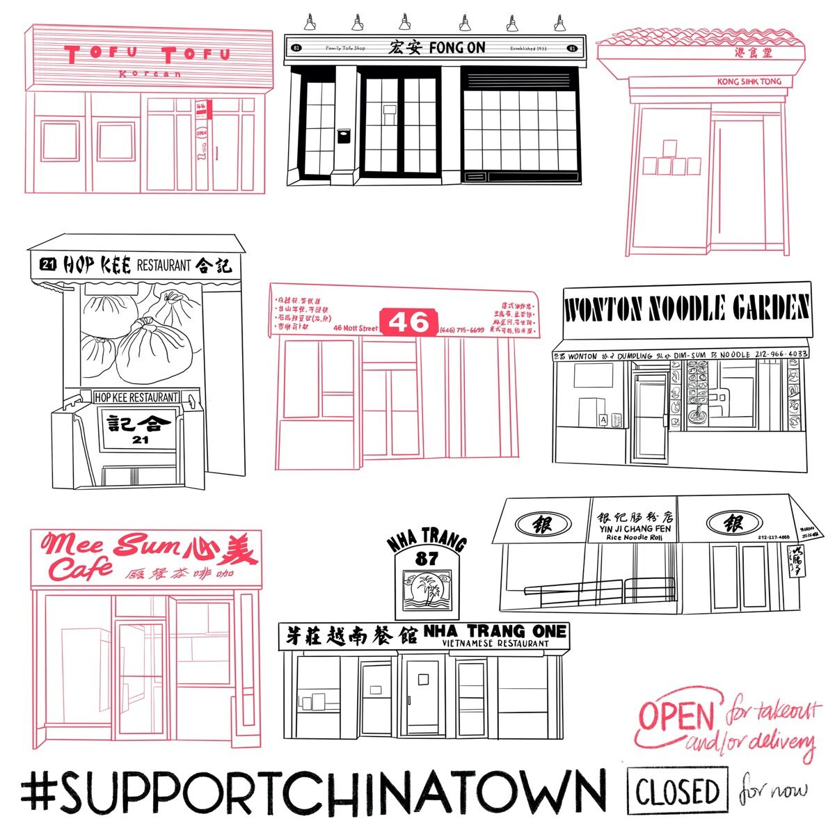 """Felicia Liang, April 19, 2020 from """"#SupportChinatown,"""" 2020. Courtesy of the artist."""