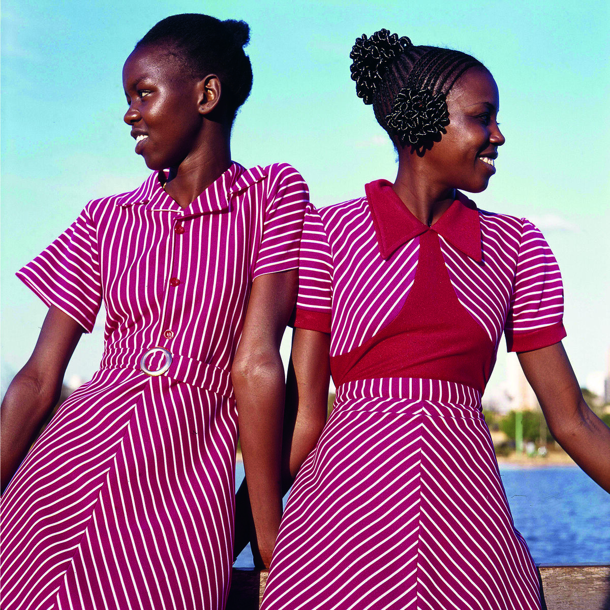 Priya Ramrakha, Fashion shoot for Raymonds clothing, Nairobi, Kenya, 1967. © Priya Ramrakha.
