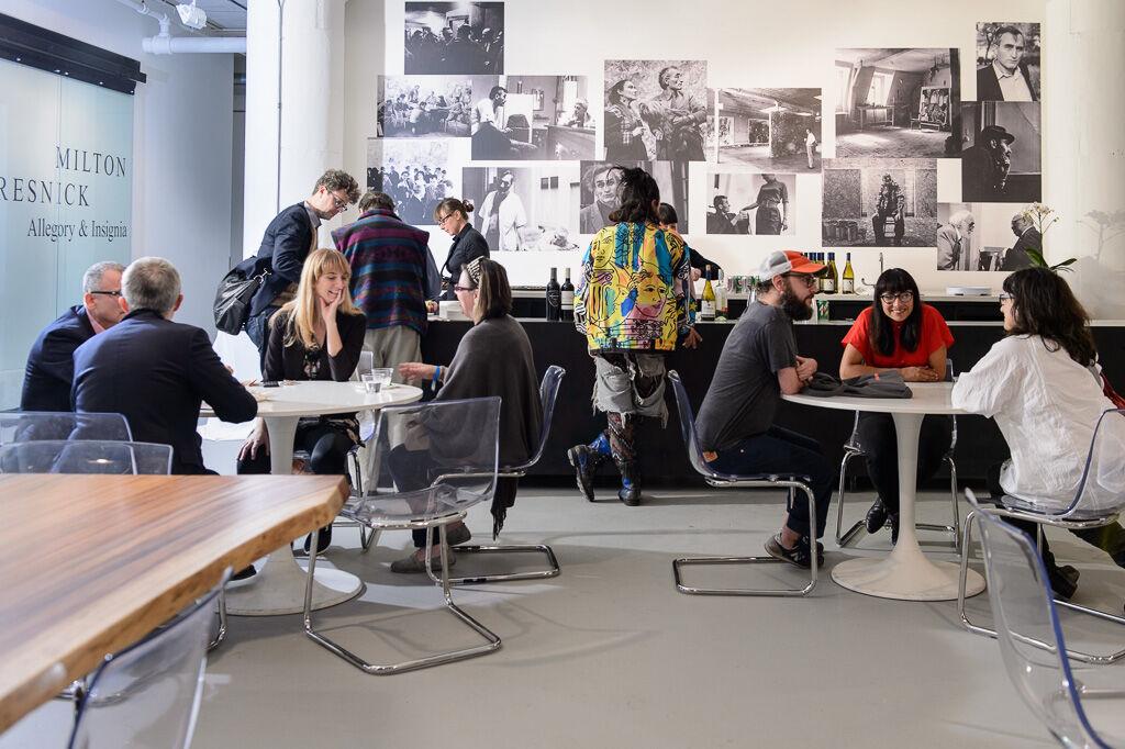 Mana Contemporary Chicago café. Courtesy Mana Contemporary.