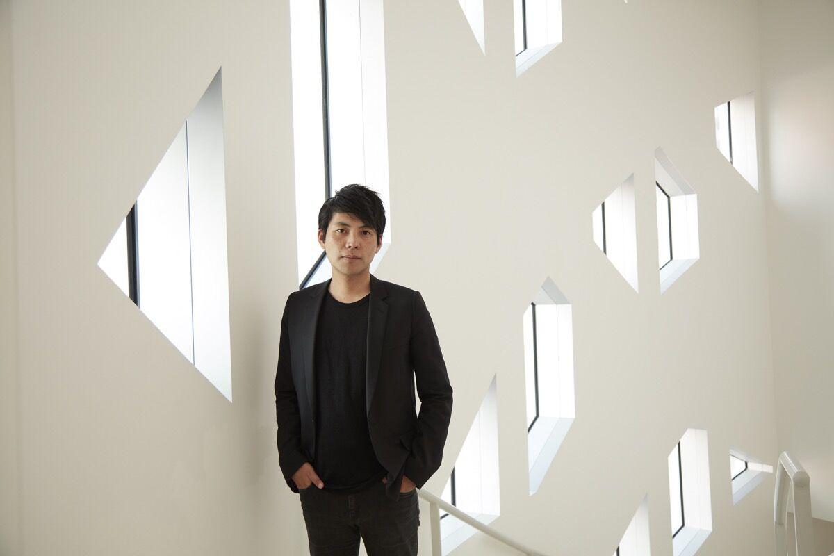 Portrait of Shohei Shigematsu by Bruce Damonte. Courtesy of OMA.
