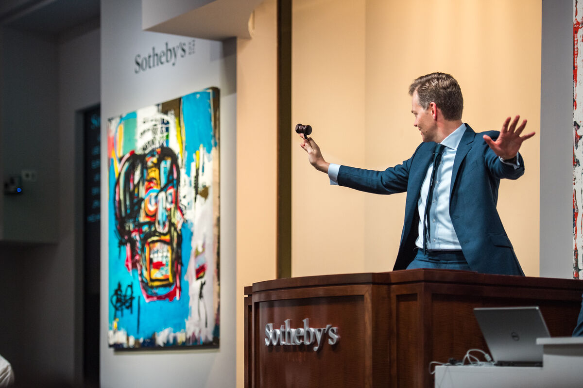 Sotheby's New York, Contemporary Art Evening Auction, 2017. Courtesy of Sotheby's New York.