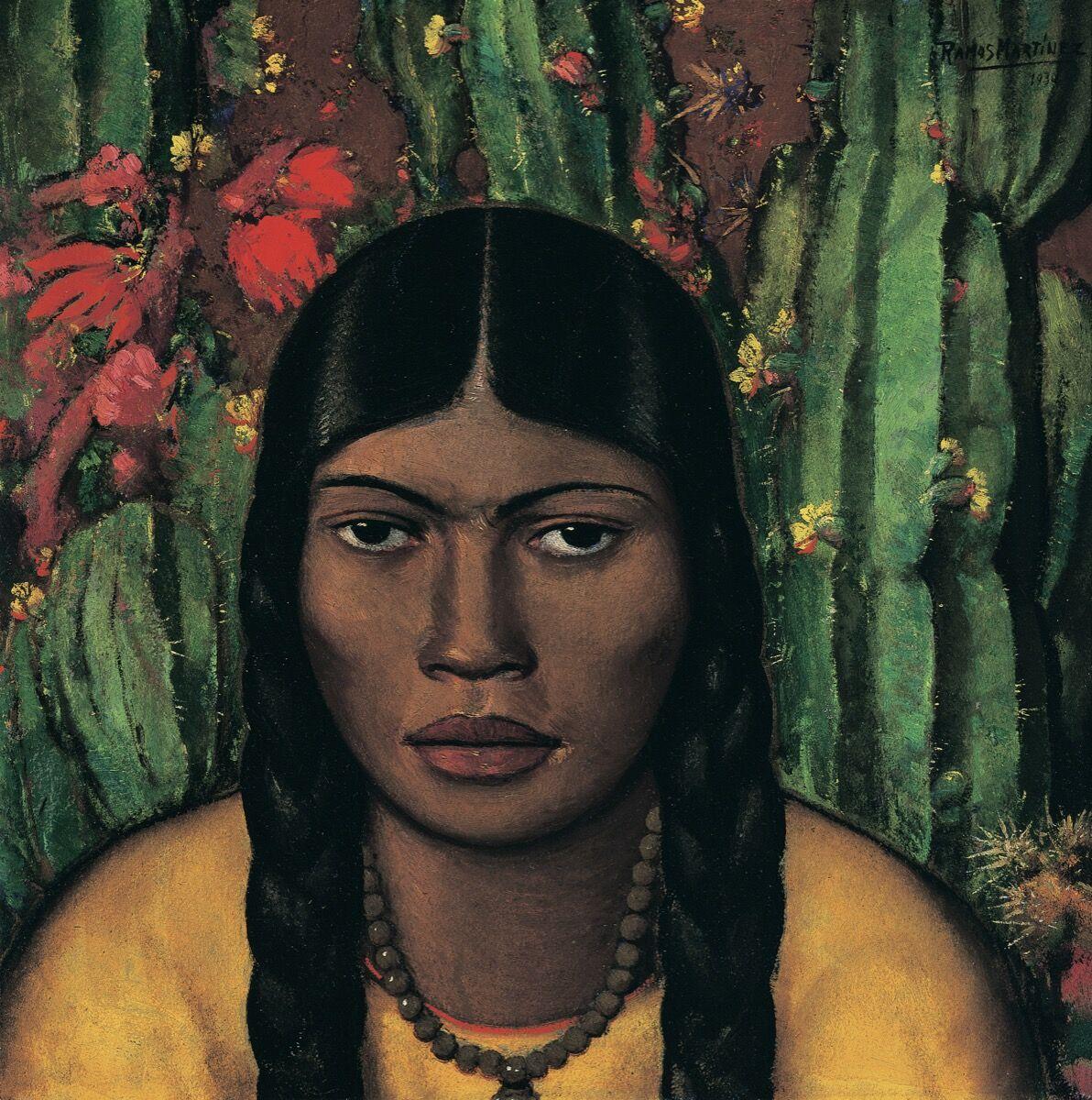 Alfredo Ramos Martínez, Mancacoyota, 1930. © Proyecto de investigación Alfredo Ramos Martínez.  Cortesía del Museo de Arte de Dallas.