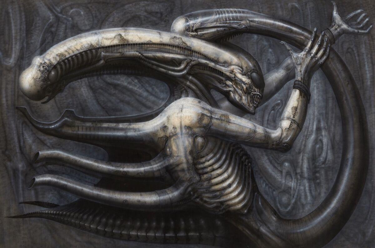 Science Fiction Side Of Everyday Life >> H R Giger S Nightmarish Art Beyond Alien Artsy