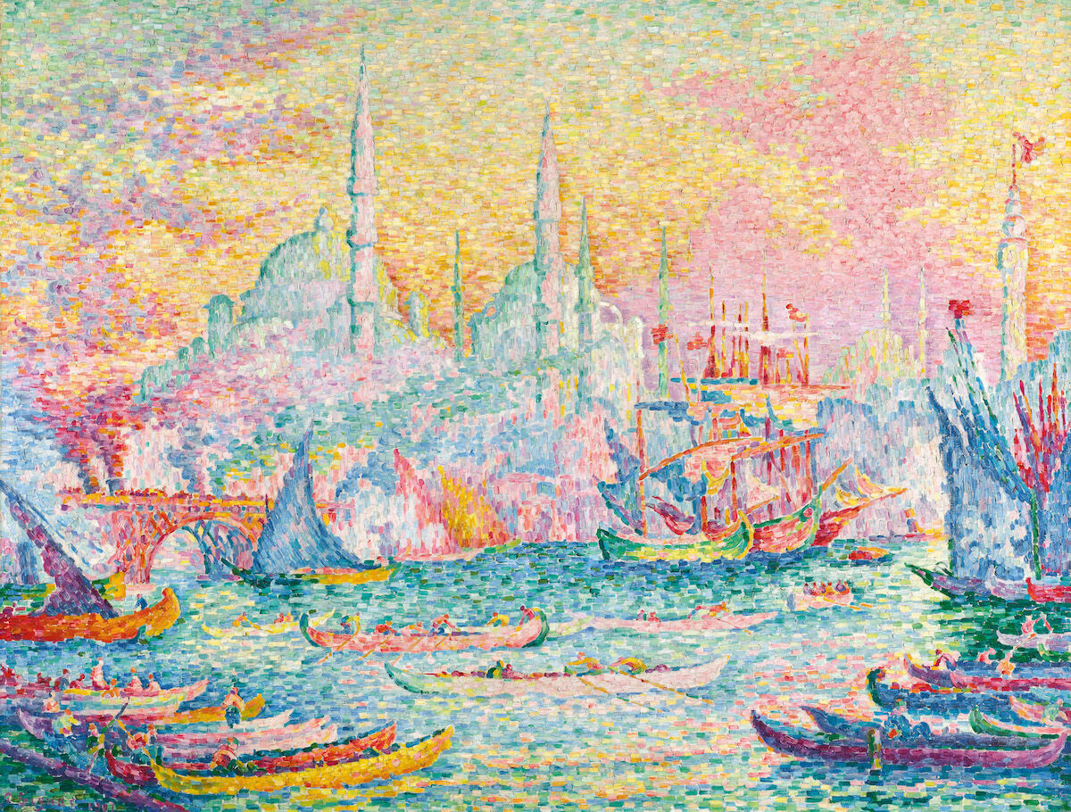 Paul Signac, La Corne d'Or (Constantinople), 1907. Sold for $16.2 million. Courtesy Sotheby's.