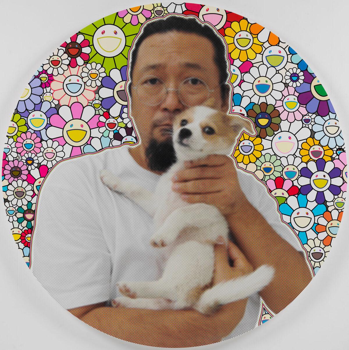 Takashi Murakami, In 2019, a Sentimental Memory of POM and Me, 2019. ©︎ 2019 Takashi Murakami/Kaikai Kiki Co., Ltd. All Rights Reserved. Courtesy of Gagosian.