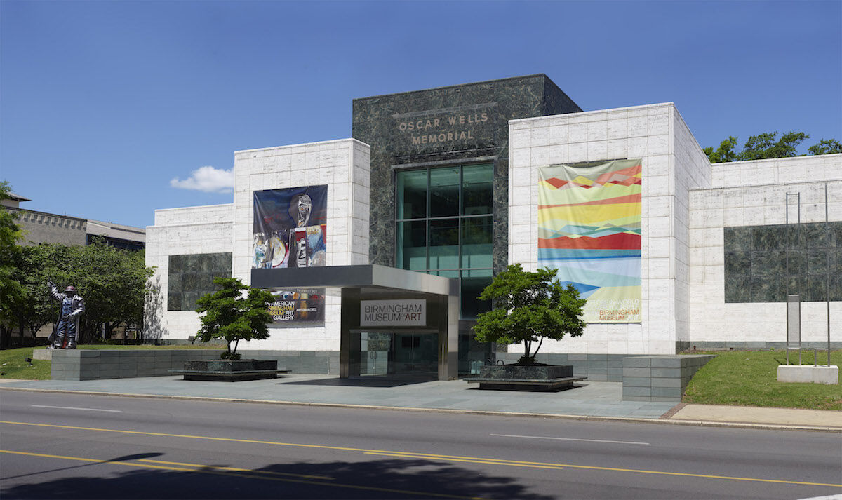 The Birmingham Museum of Art in Birmingham, Alabama, is one of the 855 arts organizations that received CARES Act funds through the National Endowment for the Arts. Photo by Sean Pathasema, courtesy the Birmingham Museum of Art, via Wikimedia Commons.