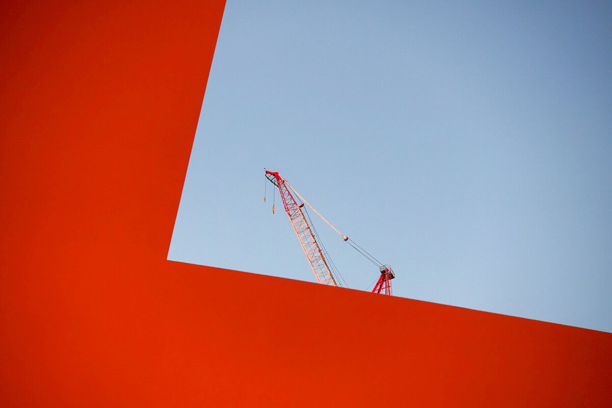 A view from James Turrell, Meeting, 1980–86. Photo by Nick Normal, via Flickr.