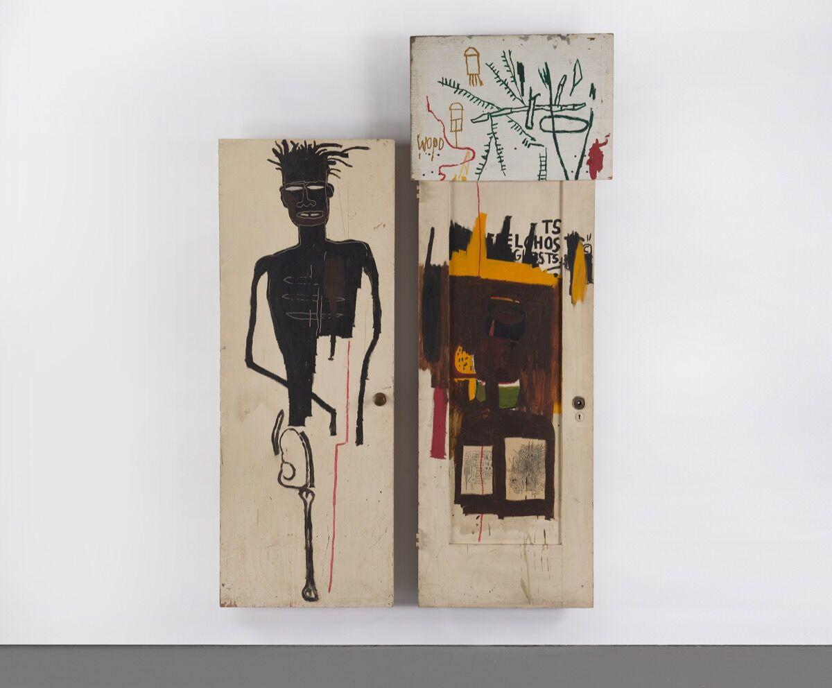 Jean-Michel Basquiat, Self Portrait, 1983. Courtesy of Phillips.